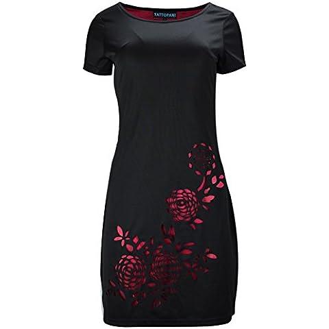 Mujeres negras visten camisa con estampado floral