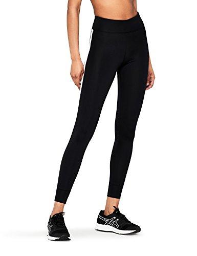 AURIQUE Leggings Sportivi Donna, Nero (Black), 40 (Taglia Produttore: X-Small)