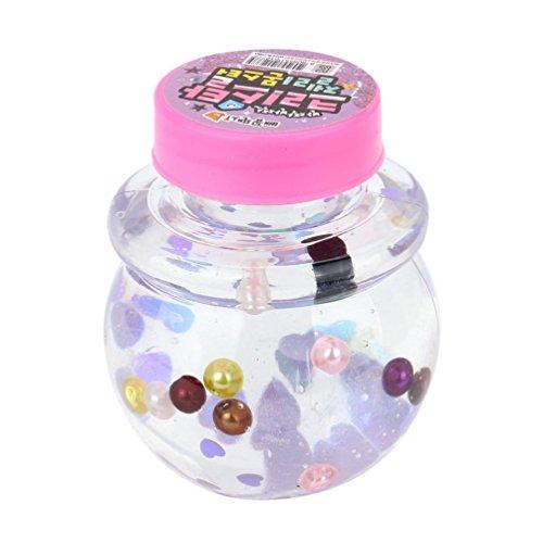 Funny schlamm Stress Relief Spielzeug, mamum Crystal jelly Spielzeug Weich schlamm Duft Stress Relief Spielzeug Sludge Toys Einheitsgröße Mini Crysta
