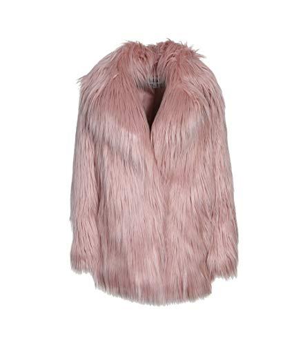 JAKKE Damen Jacke Heather aus Kunstpelz in Rosa pink 10 Luxe Blouson