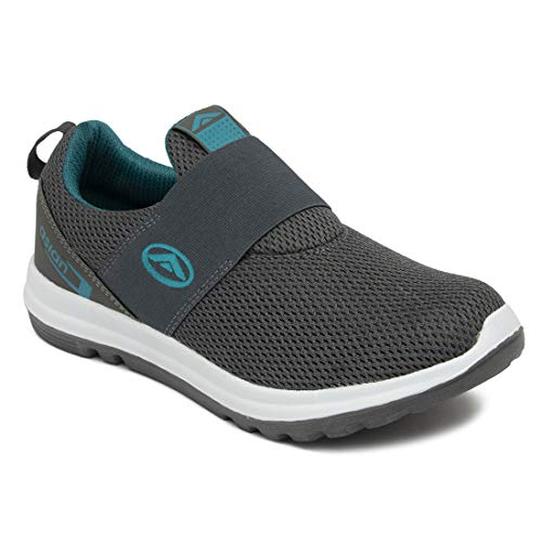 ASIAN Prime-01 Sports Running Shoes for Men (Size: 10 UK, Color: Grey Green)