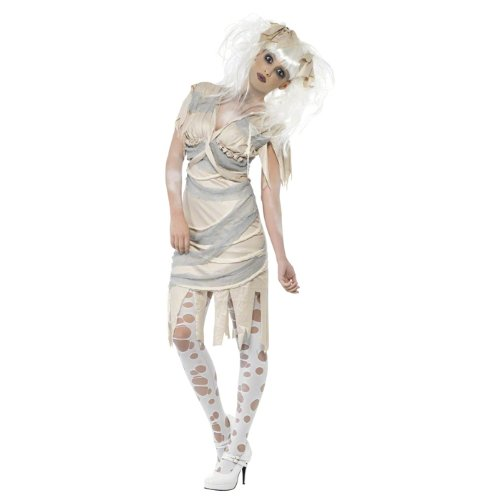 NEU Damen-Kostüm Mumie Gr. L (Mumie Kostüm Geist)