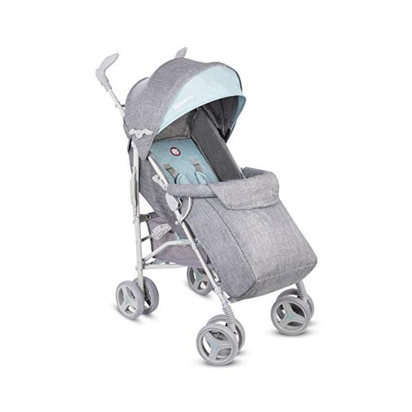 Lionelo Irma Folding Stroller with Backrest Adjustment 6 Inch Wheels Lionelo  8