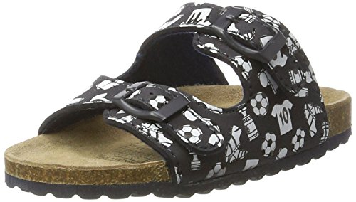 softwaves Jungen 474 202 Pantoletten, Blau (Navy), 37 EU