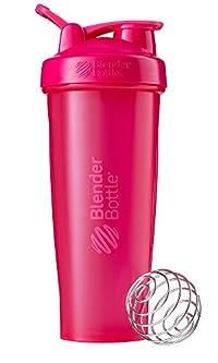 BlenderBottle C01643 Plastic Classic Loop Top Shaker Bottle, 945 ml (Pink)