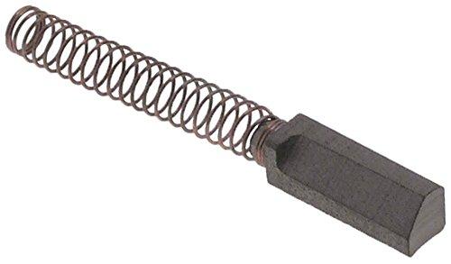 Fimar Kohle für Teigknetmaschine K5, K50, K5W für Motor Breite 6mm Länge 19mm Höhe 8mm komplett