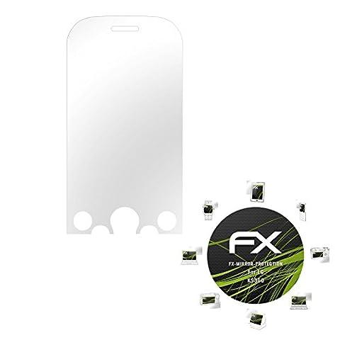 LG KS360 Spiegelfolie - atFoliX FX-Mirror Displayschutz Folie mit Spiegeleffekt