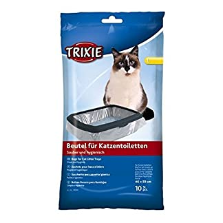 Bulk - Trixie Cat Litter Tray Bags, 46 59 cm, 6 Packs Of 10 - 60 Pieces Bulk – Trixie Cat Litter Tray Bags, 46 59 cm, 6 Packs Of 10 – 60 Pieces 41bUb2rL kL