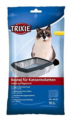 Bulk-Trixie bac à litière pour chat Sacs, 4659cm, 10paquets de 10-100Pièces