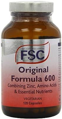 Original Formula 600 X 120 Capsules Fsc Double Pack 240 Capsules from FSC