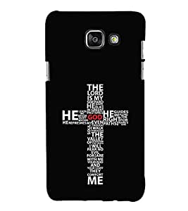 FUSON The Lord My Shepard 3D Hard Polycarbonate Designer Back Case Cover for Samsung On5 (2016) New Edition For 2017 :: Samsung Galaxy On 5 (2017)