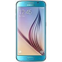 Samsung Galaxy S6 Smartphone (5,1 Zoll (12,9 cm) Touch-Display, 64 GB Speicher, Android 5.0) blau (Nur für Europäische SIM-Karte)