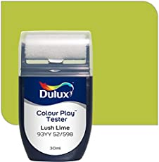 Dulux Color Play 30 ml Paint Tester (Lush Lime, Color Code: 93YY 52_598)