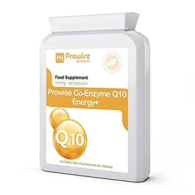 Co-Enzyme Q10 (CoQ10) 100mg 60 Capsules - Once a Day Vegetarian Capsules, Fast Release High Absorption, Supports Energy Production, Healthy Heart Function & rich in energy to Support the Maintenance & Wellbeing of the Heart, Liver & Body Cells; UK Manufac