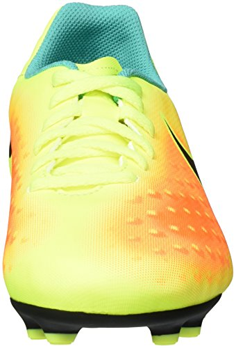 Nike Unisex-Erwachsene Jr Magista Ola Ii Fg Fußballschuhe Amarillo (Volt / Black-Total Orange-Clear Jade)