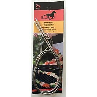 Wire Flexible BBQ/Braai Grilling Skewers