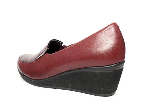 PITILLOS Scarpe Donna Pelle Molto pensati Soletta estraibile–disponibile in colore: bordeaux/nero, elasticizzati laterali–1821–569 Nero