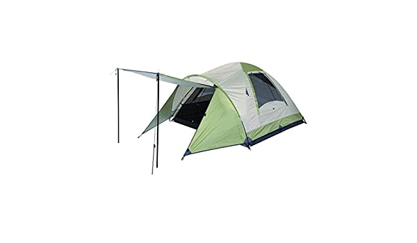 OZtrail Tasman 3V Three Person Dome from with tent floor