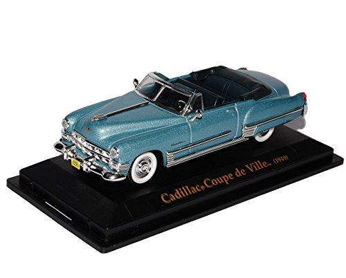 cadillac-coupe-de-ville-1949-cabrio-grau-blau-oldtimer-1-43-yatming-modellauto-modell-auto