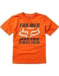 Fox Camiseta para Hombre Youth zoomin SS tee (Naranja bd64b34c99e