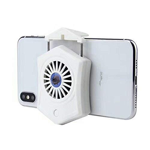 Yuanbbo Refrigerador para teléfono móvil - Portátil Refrigerador para teléfono Celular Radiador Pequeño Personal USB Fan Smartphones Soporte de Soporte