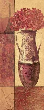 Paris Vue II by Moulton disponibile, Jo-Stampa artistica su tela e carta, Tela, SMALL (8 x 20 Inches )