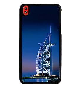 Vizagbeats Burj Al Arab Back Case Cover for HTC DESIRE 816