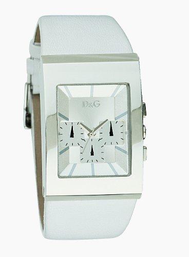 Dolce & Gabbana D&G Logoside Chrono - Reloj de mujer de cuarzo, correa de acero inoxidable color varios colores