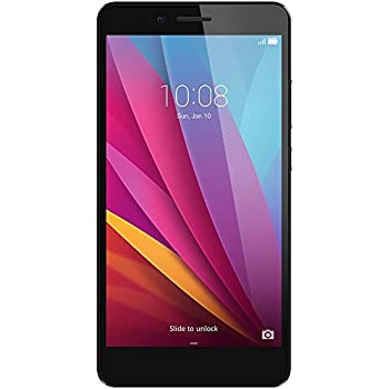 Honor 5X Smartphone, 5.5 Pollici, WiFi 802.11 b/g/n, Bluetooth 4.1, 1.5 GHz Octa-Core, Qualcomm, 2 GB RAM, 16 GB Memoria Interna, Fotocamera da 13 MP/5 MP, LTE, Android 5.1, Grigio