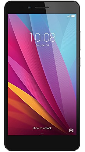 Honor 5X Smartphone, 5.5 Pollici, WiFi 802.11 b/g/n, Bluetooth 4.1, 1.5 GHz Octa-Core, Qualcomm, 2 GB RAM, 16 GB Memoria Interna, Fotocamera da 13 MP/5 MP, LTE, Android 5.1, Grigio