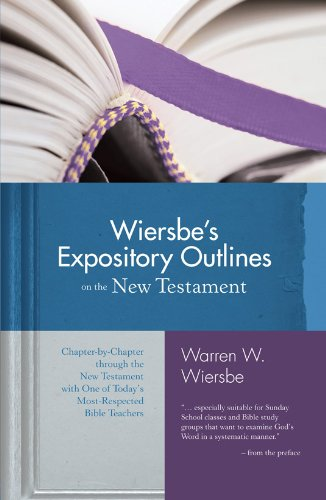 Download Wiersbe's Expository Outlines- New Testament