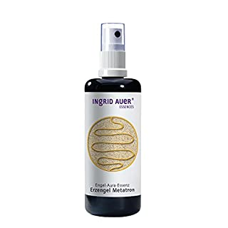 Ingrid Auer aura angel essence (100 ml spray) - archangel Metatron supports you when you have new plans, visions and goals