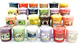 YANKEE CANDLE Lot de 12 Bougies votives parfumées Assorties