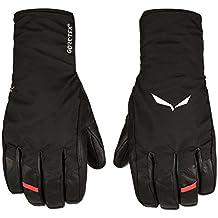 Salewa Ortles GTX Grip Gloves, guantes para alipinismo y alpinismo sobre hielo impermeables Hombre, Hombre, Ortles Gtx Grip Gloves, negro, M