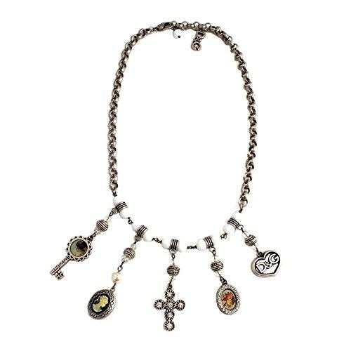men-Halskette Edelstahl 53cm DJ0258 (Dolce Gabbana Ohrringe)