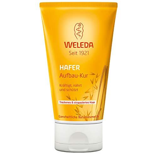 WELEDA Hafer Aufbau-Kur, intensive Haarpflege für strapaziertes und trockenes Haar, die Spülung kräftigt, nährt und schützt und baut das Haar auf (1 x 150 ml) -