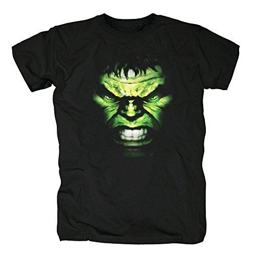 TSP Marvel - Hulk Face Organic T-Shirt Herren XL ()