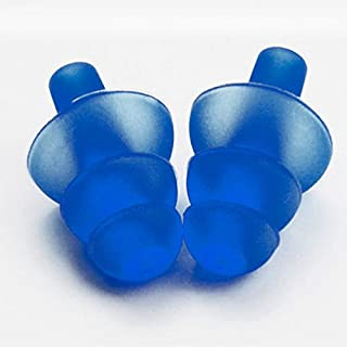 AUAUDATE 1 Paar Silikon Ohrenstöpsel Ohrstöpsel Gehörschutz Anti-Lärm-Ohrstöpsel für Studie Schlafen