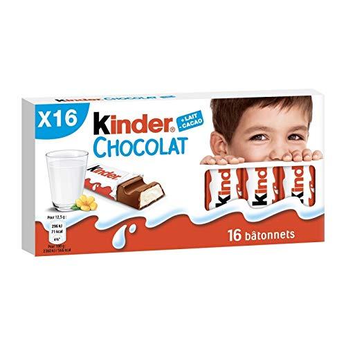 Kinder - Schokolade 200G - Lot De 4 - Preis pro Los - Schnelle Lieferung