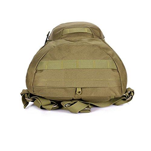 YAAGLE Bersteigen Taschen Fahrradrucksack militärische Tasche Gepäck Rucksack Schultertasche Reisetasche A4 Schultasche 20 L Damen und Herren Unisex Tarnung 2