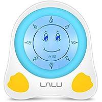 Reloj De Alarma Inteligente Para Niños Sleep Trainer Luz De Noche Multifunción Para Entrenamiento De Bebés