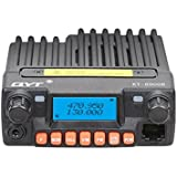 Uphig QYT KT-8900R 200CH 25W TRI-Banda Doble Pantalla VOX móvil Bidireccional Radio Transceptor (KT-8900R)