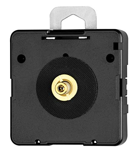 Hermle Quarzuhrwerk NH 2100 - Ideal für Uhren-Selbermacher - Zeigerwerklänge ohne Sek. 21,0 mm - Inklusive Einbauzubehör - C104672