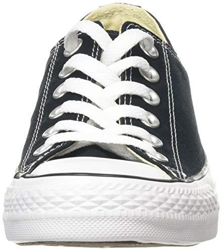 CONVERSE Chuck Taylor All Star Seasonal Ox, Unisex-Erwachsene Sneakers, Schwarz (Black), 39 EU - 4