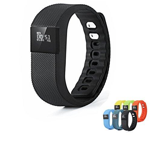 vahulawa-Bluetooth-Wireless-de-banda-Fitness-Tracker-reloj-inteligente-Smart-pulsera-Monitor-de-sueo-Running-podmetro-ejercicio-para-Android-43-IOS-70-negro