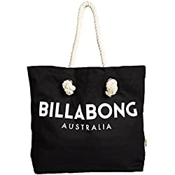 Billabong Essentials Tote, Bolsa de Playa para Mujer, Negro (19 Black), Talla Unica