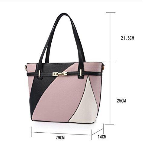 Dame Big Bag Handtasche Umhängetasche Einfache Mode Temperament Casual Damen Tasche A