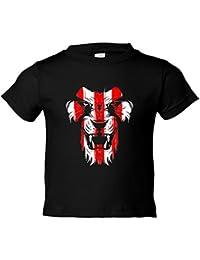 Camiseta niño Athletic león cara colores Bilbao