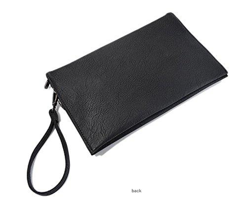 GSHGA Borse In Pelle Morbida Da Donna Borsa A Tracolla Multicolore Totes Viaggio Borse Messenger Messenger,Grey Black