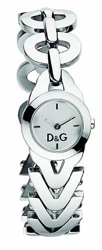 0507feb94a3c Reloj D G Dolce Gabbana d g cactus de mujer de cuarzo con correa de acero  inoxidable plateada - sumergible a 30 metros de Dolce   Gabbana